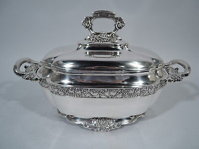 Tiffany Tureen - 4627 - Antique Chinese Style Soup - American Sterling Silver