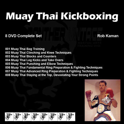 Rob Kaman's Muay Thai Kickboxing (8 DVD Set)