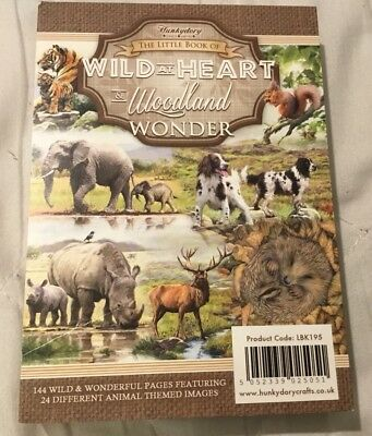 BRAND NEW HUNKYDORY Little Book Wild At Heart & Woodland Wonder Set 24 A6 Images