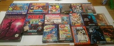 Commodore 64 Games Bundle 29 C64/128 Cassettes Inc. Final Fight, Turrican 2, etc