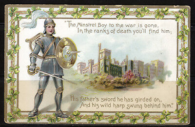 Ireland, The Minstrel Boy to the War is Gone