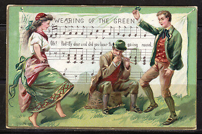 Ireland, Wearing of the Green, 1909