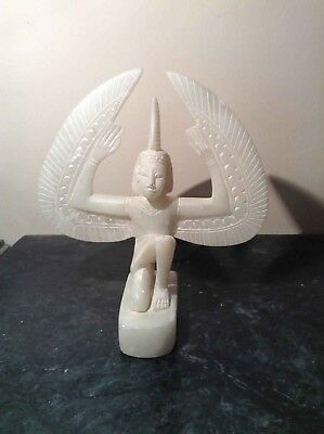 RARE Antique Ancient Egyptian Statue Goddes Isis Winged Health wisdom1780-1640BC