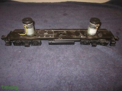 Modern 2 Motor Diesel Locomotive Power Chassis Parts Assembly O Gauge