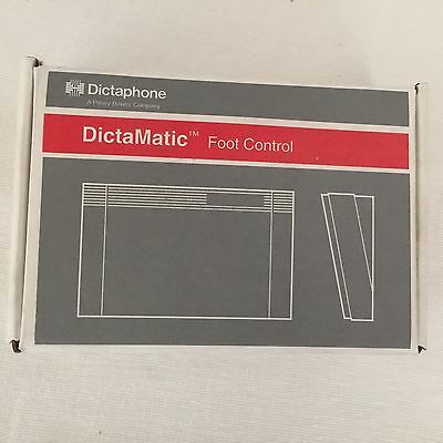 Dictaphone Dictamatic Foot Pedal Control #177557 USA