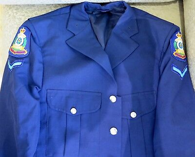 Rare / Vintage / Obsolete Logo Qld Police Constable's Dress Jacket.
