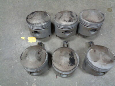 1969 Porsche 911 E MFI  2.0 Engine Pistons Set 6