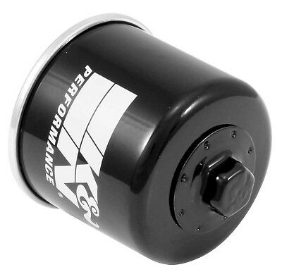 K&N KN-138 Powersports High Performance Oil Filter Black