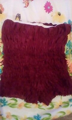 Square dance pettipants, size medium, gently used, color burgundy