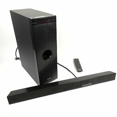 Sony Ht-Ct100 Home Theater System W/ Remote / Manual Bundle Sa-Wct100 Ss-Mct100