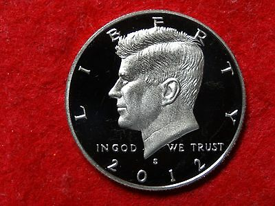 2012 S Kennedy Proof Deep Cameo Gem Clad Half Dollar **reduced** #19R