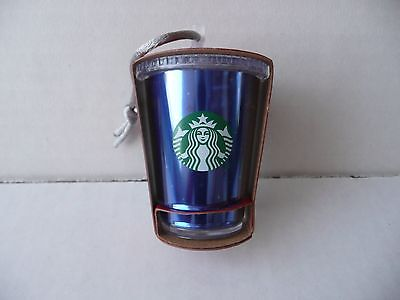 Disney Parks Disneyland 60th Diamond Celebration Starbucks Cold Cup Ornament New