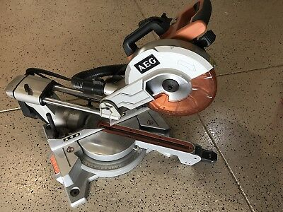 AEG 2000W 254mm Slide Compound Mitre Saw