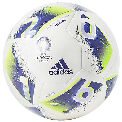 adidas UEFA Euro 2016 France Top Glide Football Soccer Ball - Size 5