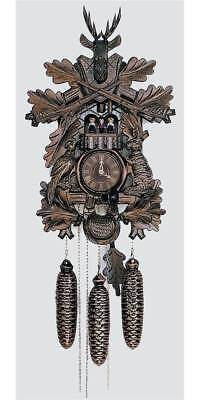 8-Day 23 in. Black Forest House Cuckoo Clock [ID 93496]