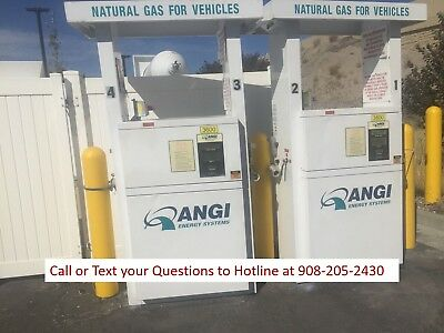ANGI Series II CNG Dispenser - 3600 PSI, Supports 2 Hoses