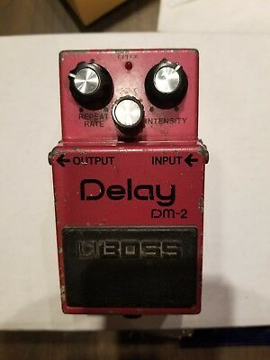 Boss DM-2 Analog delay pedal vintage