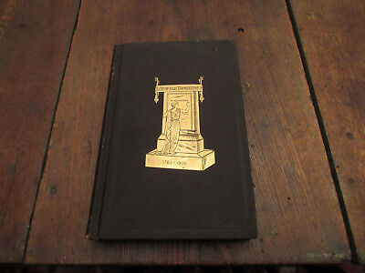 1905 Ltd Ed Litchfield And Morris Inscriptions Tombstone Record Ct Cemetery
