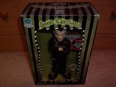 New in Box Good Charlotte Benji Action Figure Hot Topic Exclusive w/ Guitar Pick