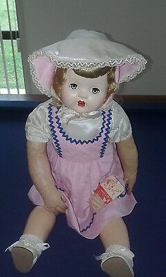 Barbara Jo Skin Doll Rarely Seen Antique Doll