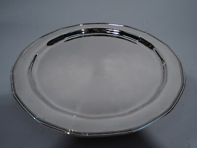 Tiffany Tray - 18083 - Antique Art Deco Soft Modernism - American Sterling