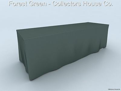Table Throw 8'  Fitted Table Cover Display