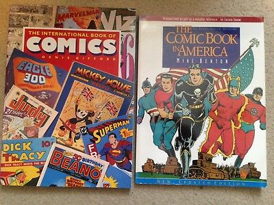 2 Books About Comics - Large Format - Glossy colour illustrations