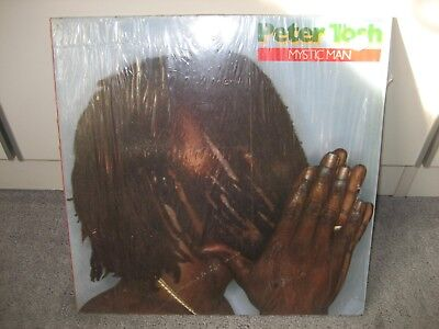 "LP Peter Tosh ""Mystic Man"" (Rolling Stones Records)"