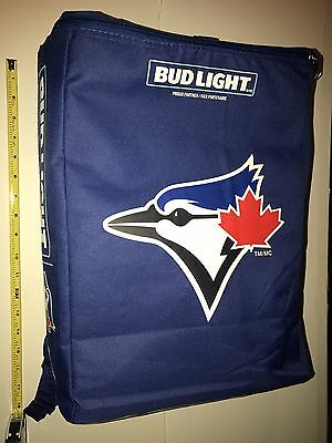 Budweiser Light Bluejays Backpack Holds 24 Cans New Unused Promo With Hologram