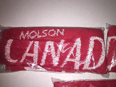 Molson Canadian Beer Bar Towel Promo In Original Wrapping New Unused