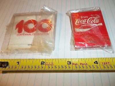 Coca Cola Matches   Two Packs Not used Full Great Condition