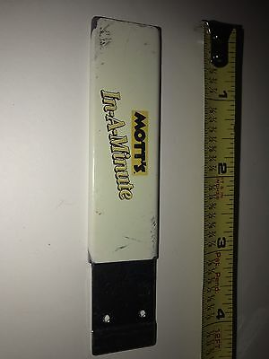 Motts In A Minute Advertising  Box Cutter Razor Shipped With Out The Razor Blade