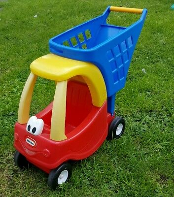 Little Tikes Cozy coupe dolls/ teddy car Shopping Trolley