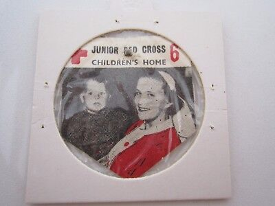 Junior Red Cross Vintage Paper/celluloid Badge Scarce In Fine Condition