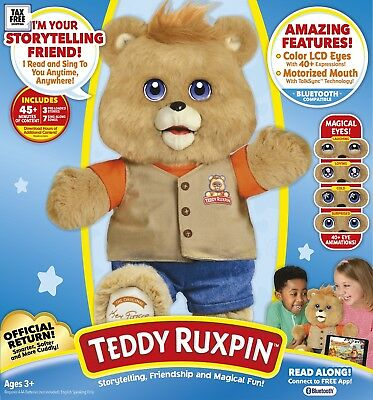 Teddy Ruxpin™ - Official Return of the Storytime and Magical Bear for 2 yrs