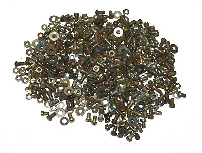 Meccano 300 grams Assorted Nuts Bolts and Washers