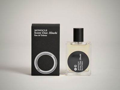 MONOCLE COMME DES GARCONS SCENT ONE: HINOKI FRAGRANCE 50ml ( Sealed )