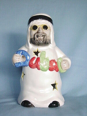 Bedouin Man Candle Holder Figurine Souvenir From Dubai United Arab Emirates Uae