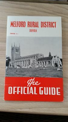 Melford Rural District Guide 1960's