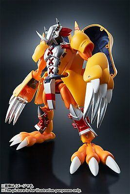 Bandai Digimon Digital Monster Digivolving Spirits 01 WarGreymon Action Figure
