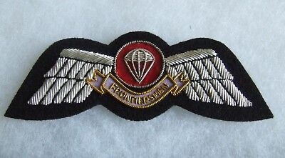 Legion Of Frontiersmen Free Fall Officers Parachute Airborne Jump Wing