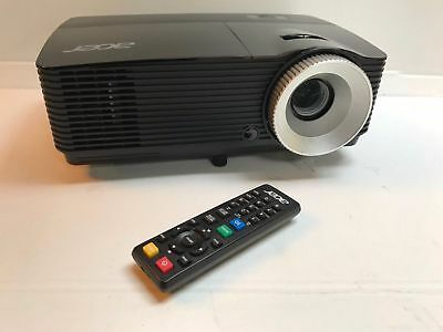 Acer X112H FULL 3D HD READY DLP HDMI HOME CINEMA PROJECTOR 🎥 ❗13,000:1 CONTRAST