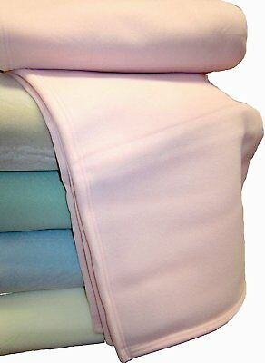 Thermalux Double Bed Plush Blanket Baby Pink Light Warm High Quality Luxury