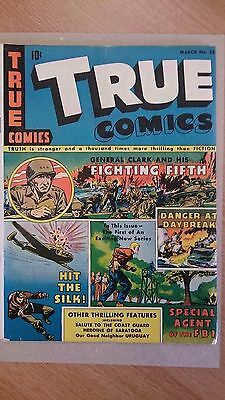 TRUE COMICS (MARCH No.33; MARCH 1944) (WW2)