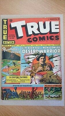 TRUE COMICS (MARCH No.22; MARCH 1942) (WW2)