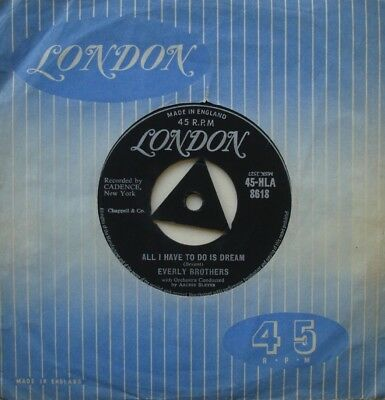 Everly Brothers, All I Have To Do Is Dream / Claudette, Tri London, 7Inch