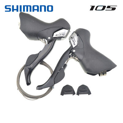 Shimano Road 105 ST-5700 Shifters 2 x 10 Speed w/ Cables Left / Right / Pair