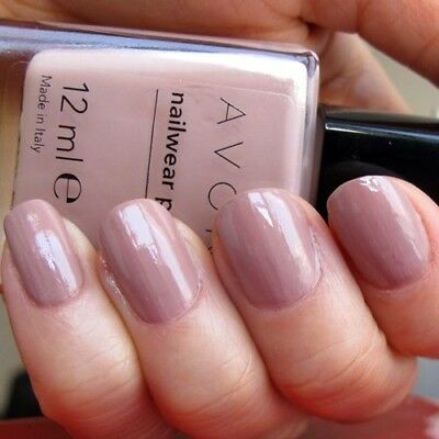 Avon Nailwear Pro+ Plus Nail Enamel Varnish Polish ' NAKED TRUTH ' shade NEW BOX