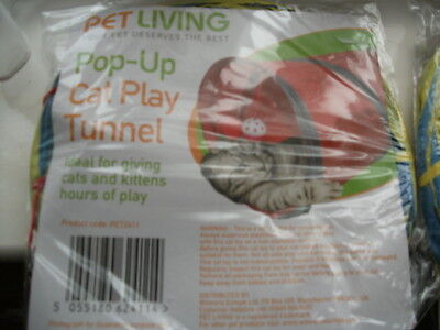 pop-up cat play tunnel
