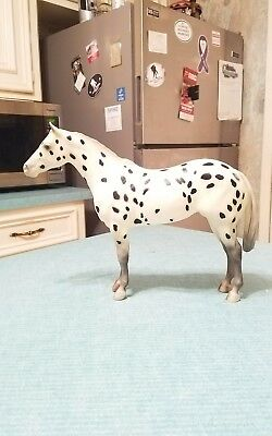 Vintage Breyer Family Appaloosa Mare Black Leopard Appaloosa Lady Phase 1992-94